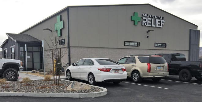 Silver State Relief's Fernley dispensary opened Wednesday.