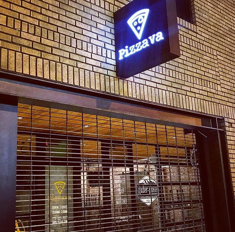 Pizzava offers free pizza to workers hit by shutdown