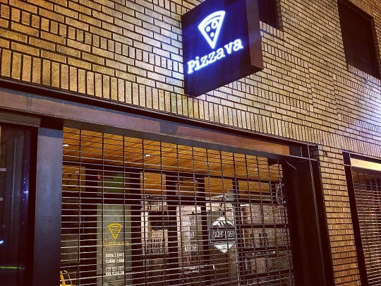 Pizzava pizzeria in Midtown Reno debuted in January 2018. It delivers until 3 a.m. on weekends. During the government shutdown, Pizzava is giving free small pies to affected workers.