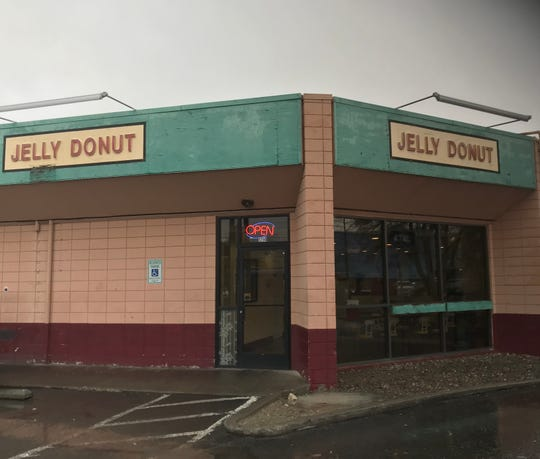 During Midtown Reno construction, folks can access the Jelly Donut parking lot from one-way southbound Wells Avenue.