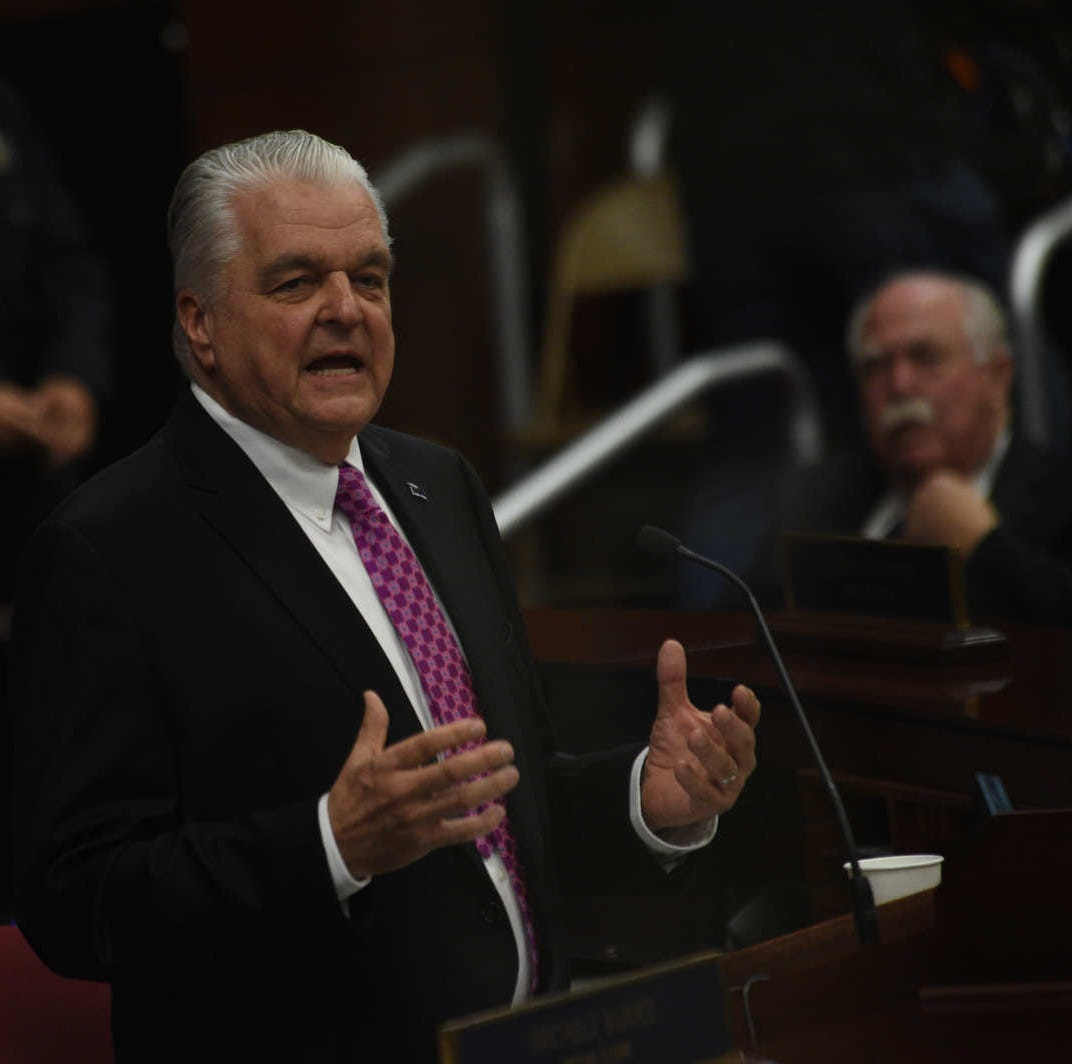 Sisolak looks to pot, sales taxes to help pay for promised teacher raises