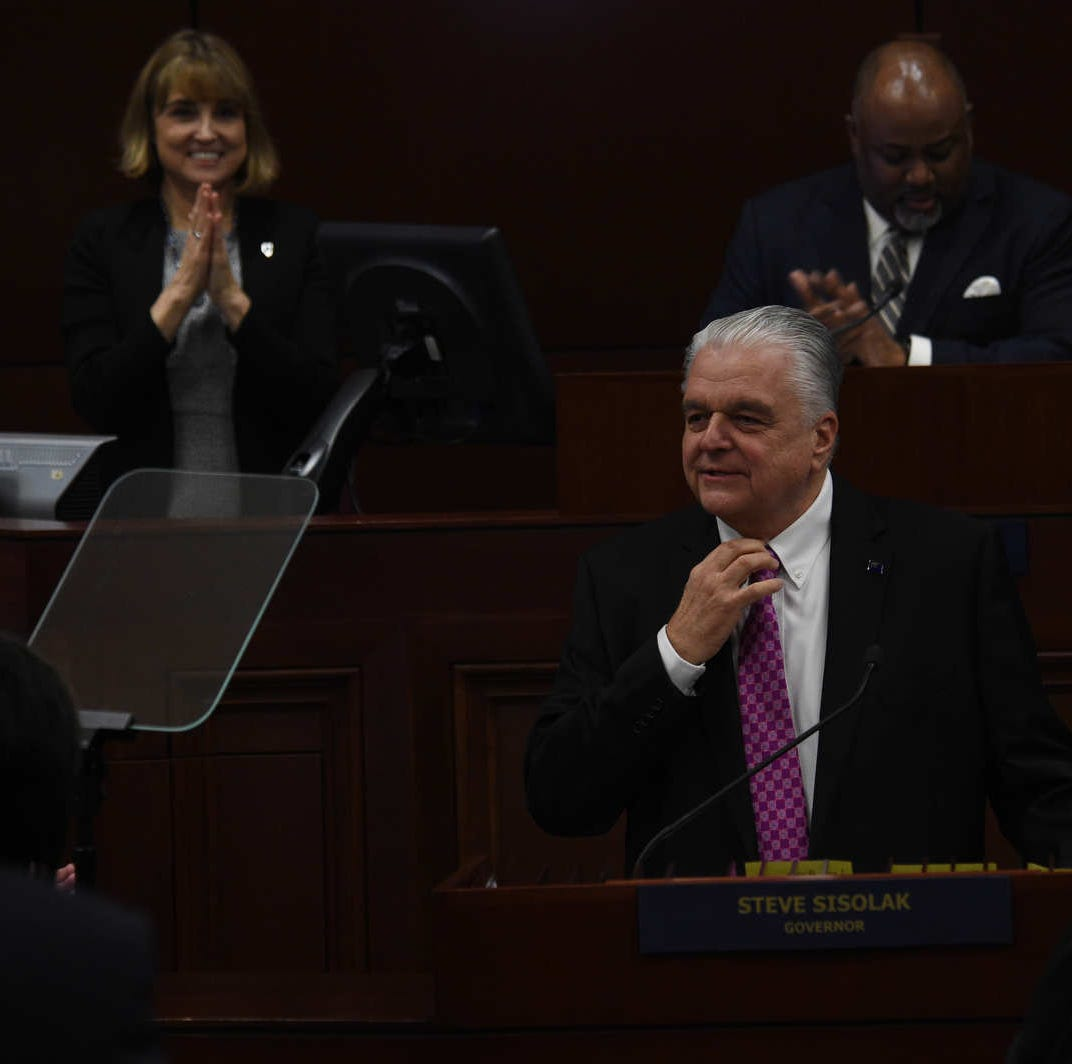 Sisolak says Nevada will join alliance opposing Trump's withdrawal from Paris climate deal