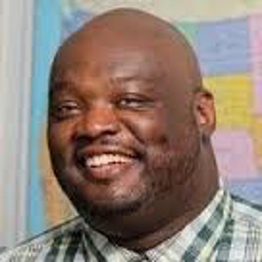 East High athletic director Eric Robinson