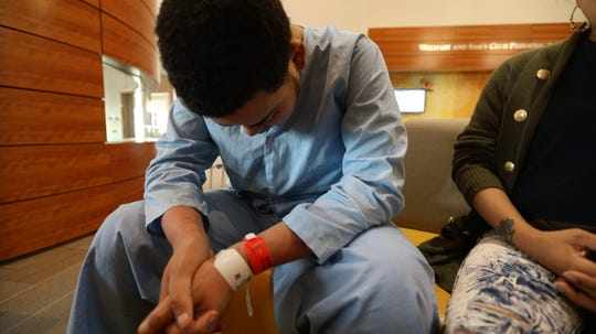Alejandro Ortiz, 18, has a failing heart and is not eligible for a heart transplant.
