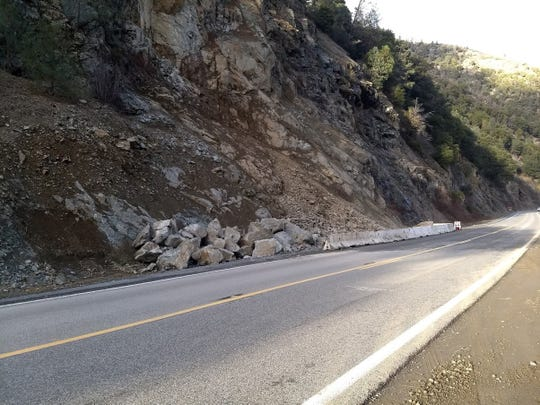 Caltrans says motorists should expect delays on Highway 299 while crews clean up debris and mud slides along the roadway.