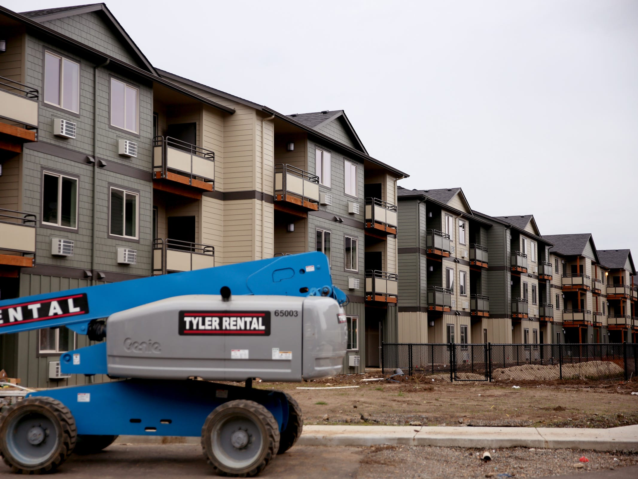 The Cornerstone Apartments in Salem on Wednesday, Jan. 16, 2019. The state is looking to reduce the energy burden for low-income Oregonians, including tenants at Cornerstone, who must live at or less than 60 percent of the area's median household income.