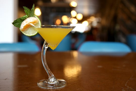 A signature cocktail is pictured at The Valkyrie Wine Tavern in Independence on Thursday, Jan. 16 2019.