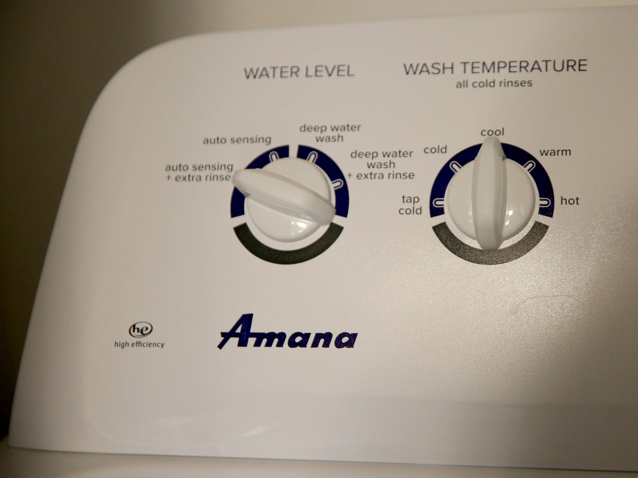 A high efficiency washer and dryer at the Cornerstone Apartments in Salem on Wednesday, Jan. 16, 2019. The state is looking to reduce the energy burden for low-income Oregonians, including tenants at Cornerstone, who must live at or less than 60 percent of the area's median household income.