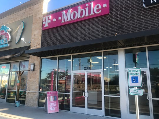T-Mobile moves to a new location at 5789 Sherwood Way. Photo taken Wednesday, Jan. 16, 2019.