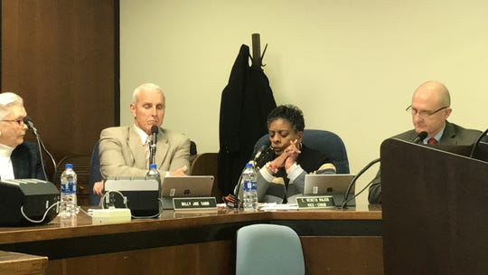 Accomack County Supervisor C. Reneta Major speaks about the Equal Rights Amendment during a meeting of the Accomack County Board of Supervisors on Wednesday, Jan. 16, 2019 in Accomac, Virginia.