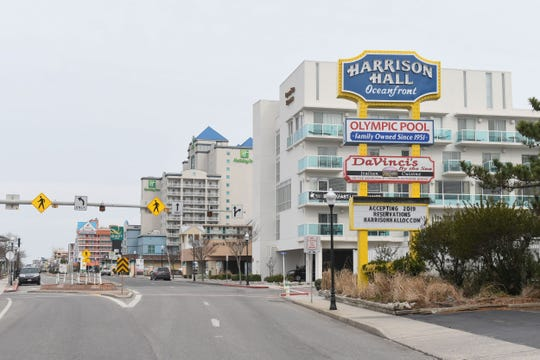 Hotels on Baltimore Ave. in Ocean City, Md.