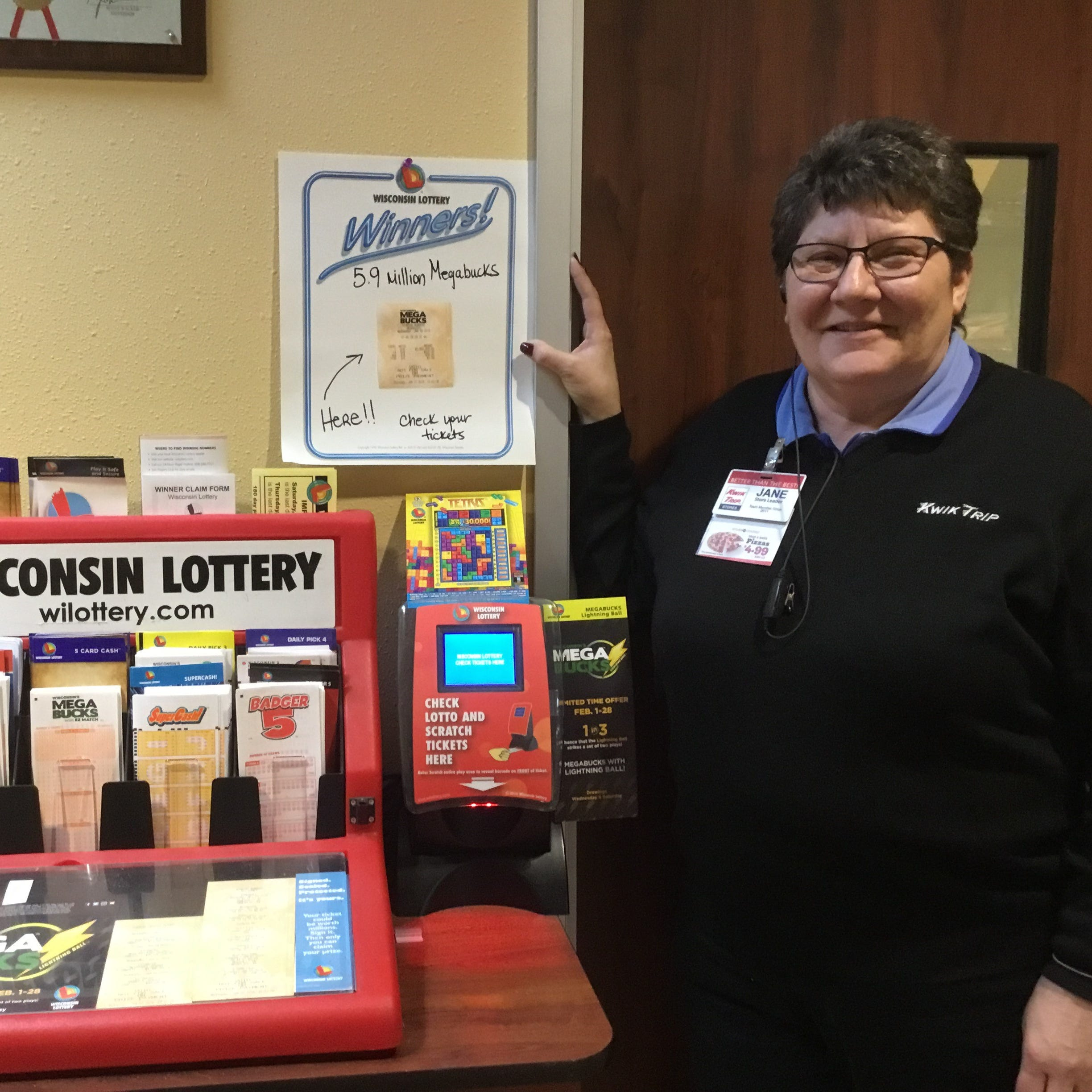 Wisconsin Lotto: Ticket worth $5.9M sold at Sheboygan Kwik Trip in Jan. is still unclaimed