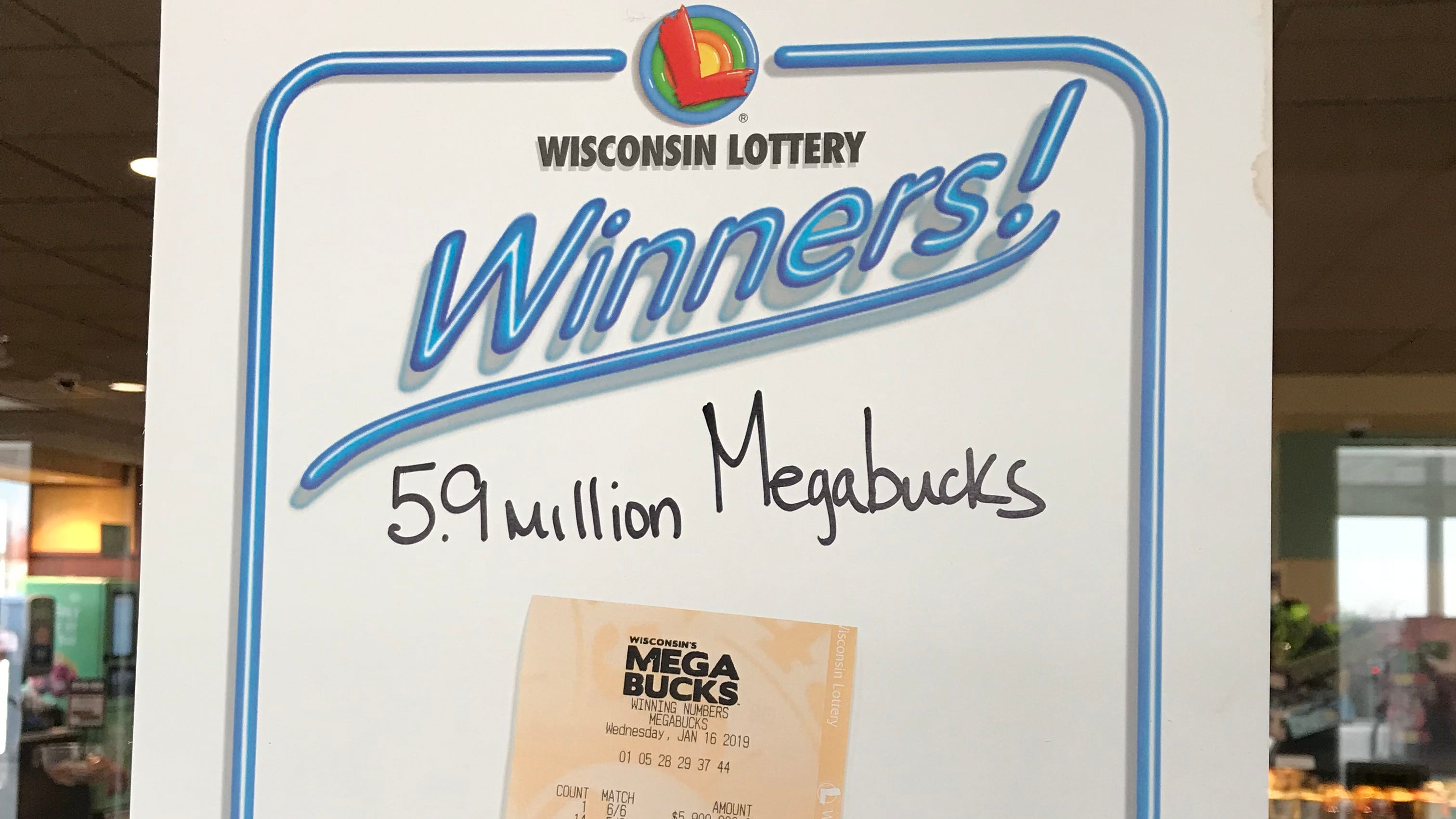 Wisconsin Lottery Sheboygan Kwik Trip Sells Winning Megabucks Ticket