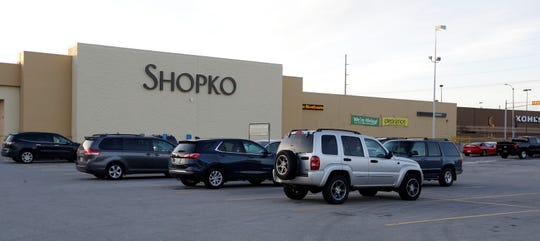 The exterior of the Sheboygan ShopKo as seen, Wednesday, January 15, 2019, in Sheboygan, Wis. The Wisconsin Based firm filed for bankruptcy protection and is closing several stores.  The Sheboygan store was not on the list of expected closures.