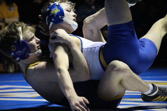 Rylee Molitor and the SDSU wrestling team have taken their share of lumps this season.