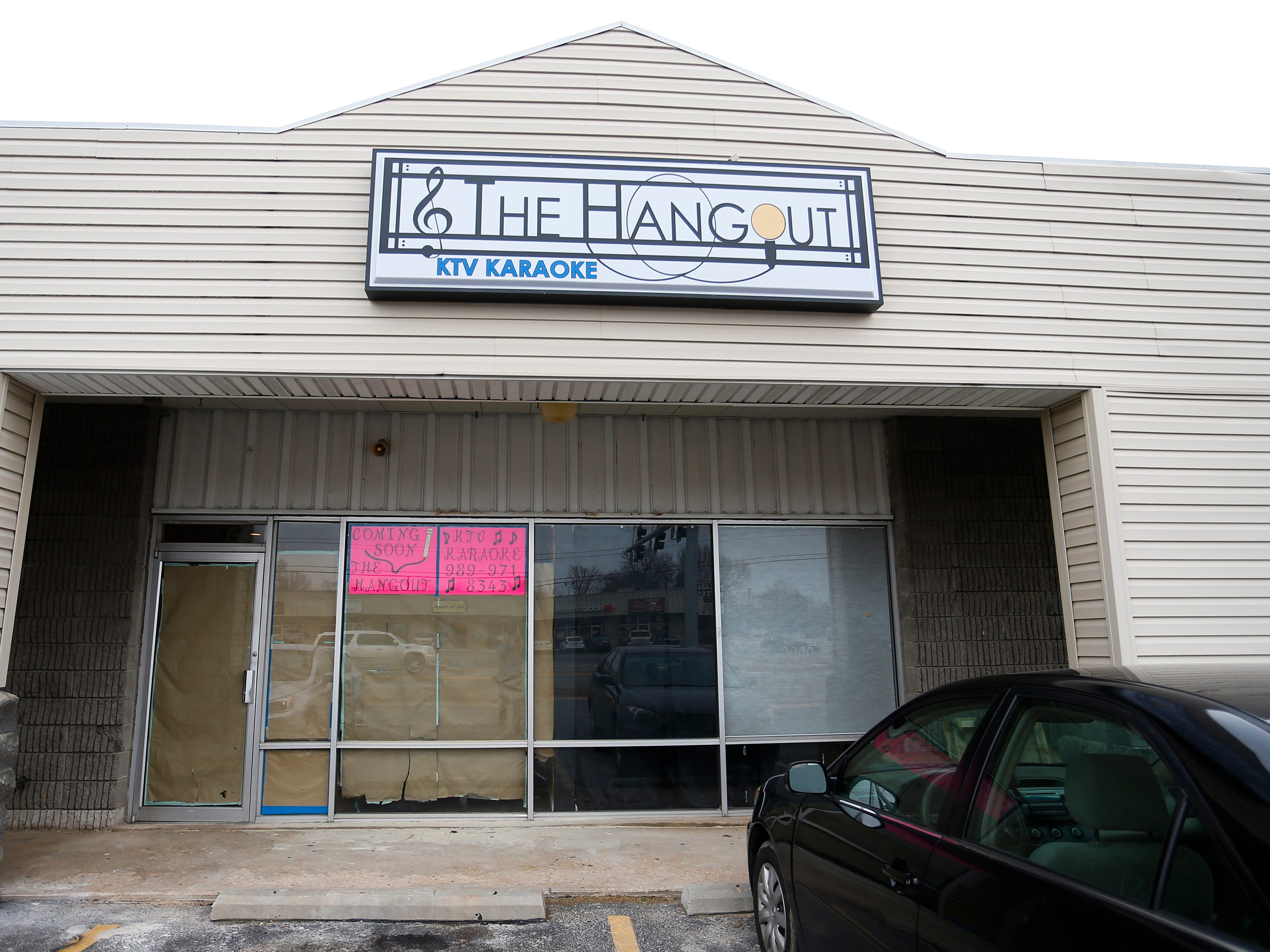 The Hangout is a new karaoke-based entertainment business preparing to open on Glenstone Avenue.