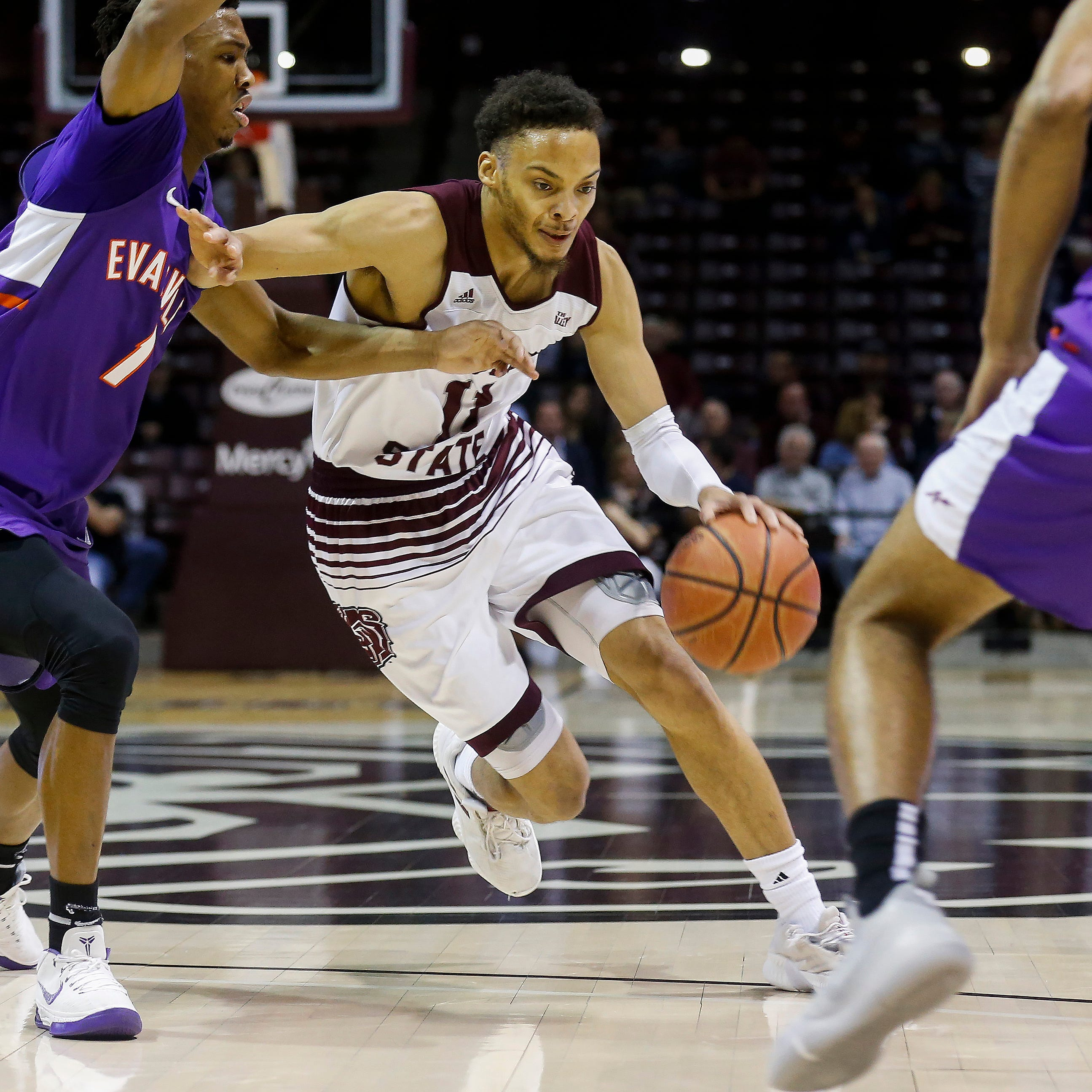 Evansville holds on late in wild victory over Missouri State