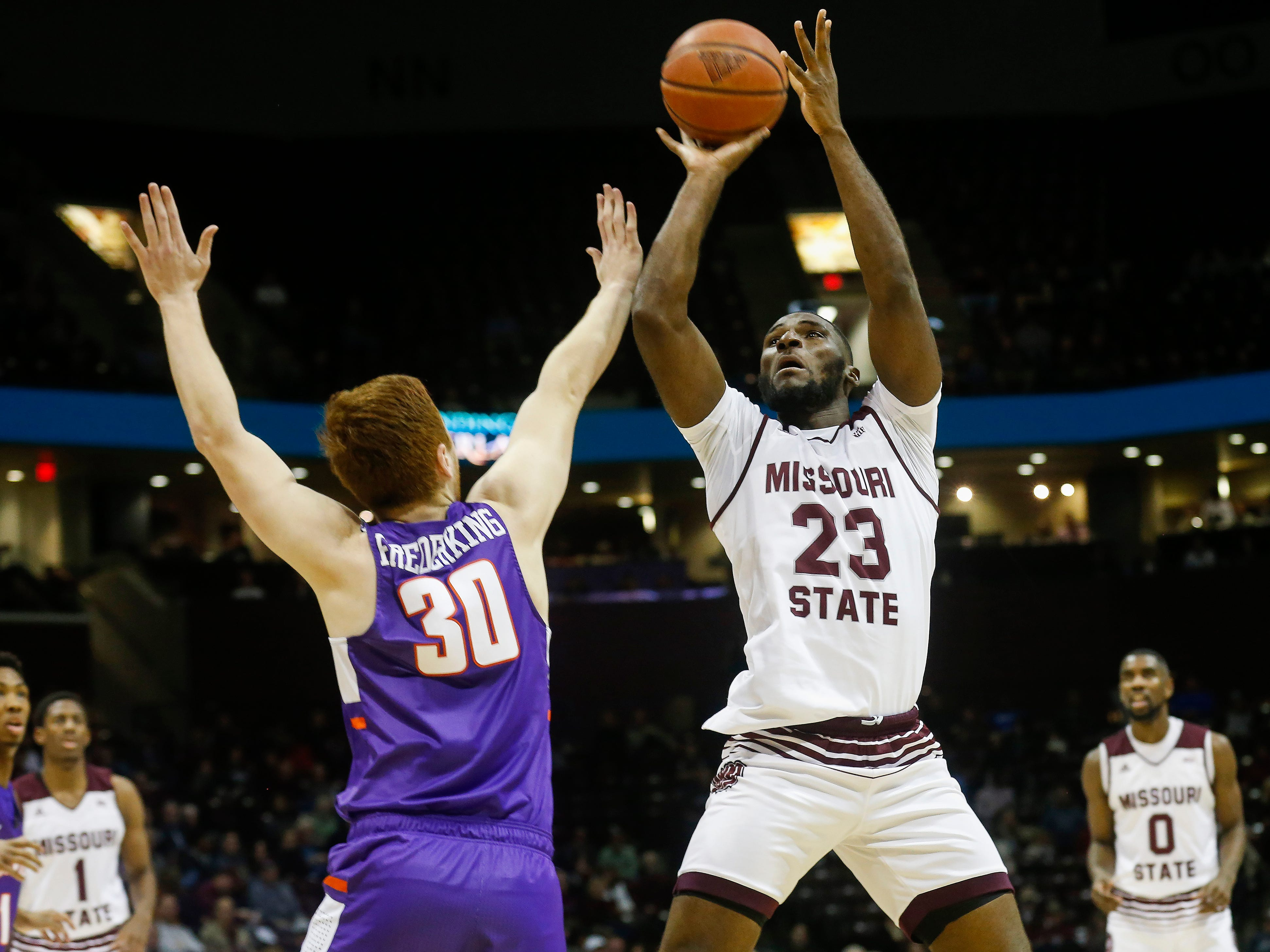 The Missouri State Bears took on the Evansville Purple Aces at JQH Arena on Wednesday, Jan. 16, 2019.