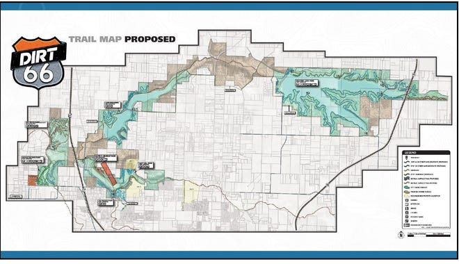 The DIRT 66 trail project hopes to eventually link Fellows Lake and other greenway trails north of Springfield.