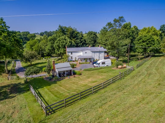 The mid-19th century farm house in Middlebrook is up for sale for $389,000. It served as the home for local singers and songwriters Robin and Linda Williams for more than 40 years.