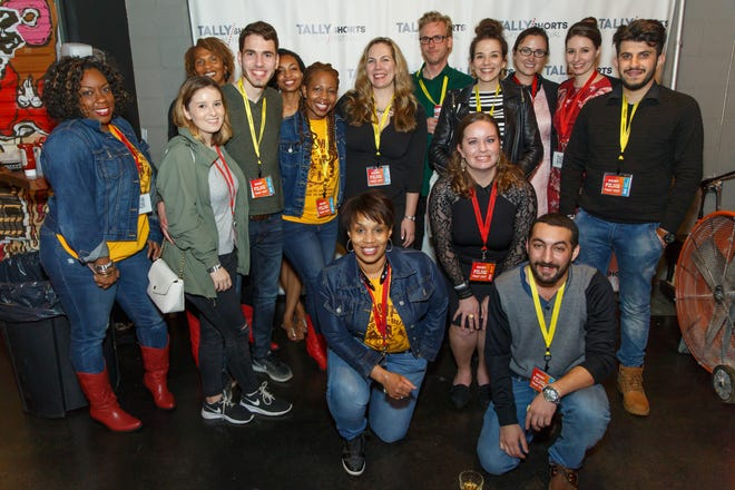 Participants in the Tallly Shorts Film Festival at Challenger Center in 2017.