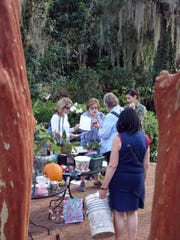 Tallahassee Garden Club members at a plant exchange.  The next exchange is Feb. 21.