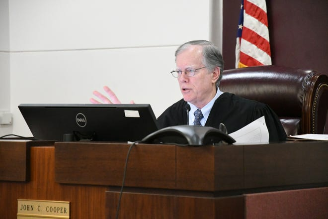 Leon County Circuit Court John Cooper threw out the governor's ban on mask mandates.