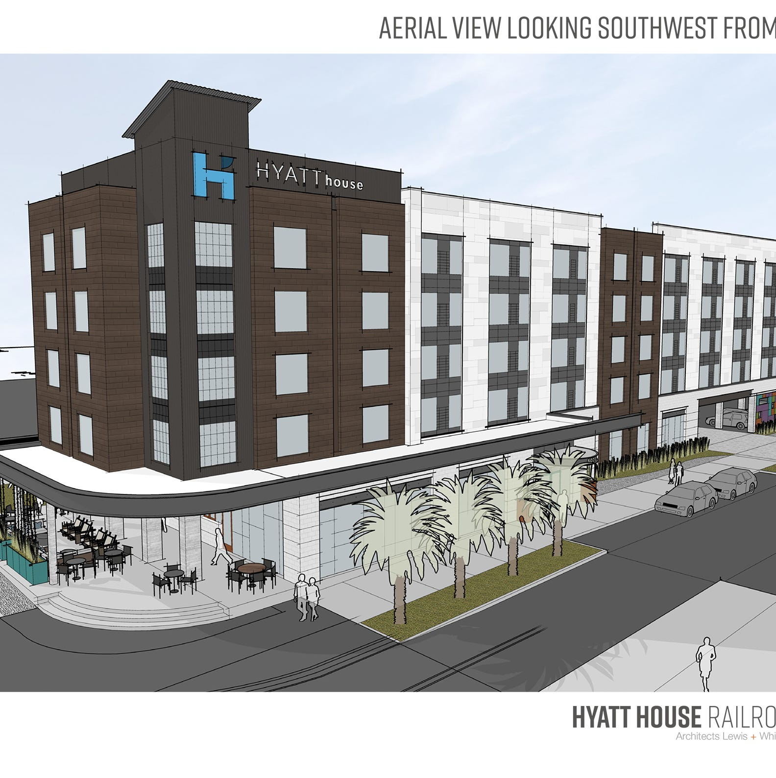 New Hyatt House Hotel brings excitement, anxiety for Railroad Square