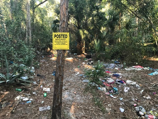 "Billy Harper posted ""No Trespassing"" signs on his property. It hasn't helped."