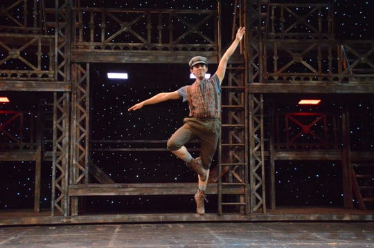 """Musical lovers will enjoy the UTEP Dinner Theatre's production of """"Newsies."""" It's the first time being shown in El Paso."""