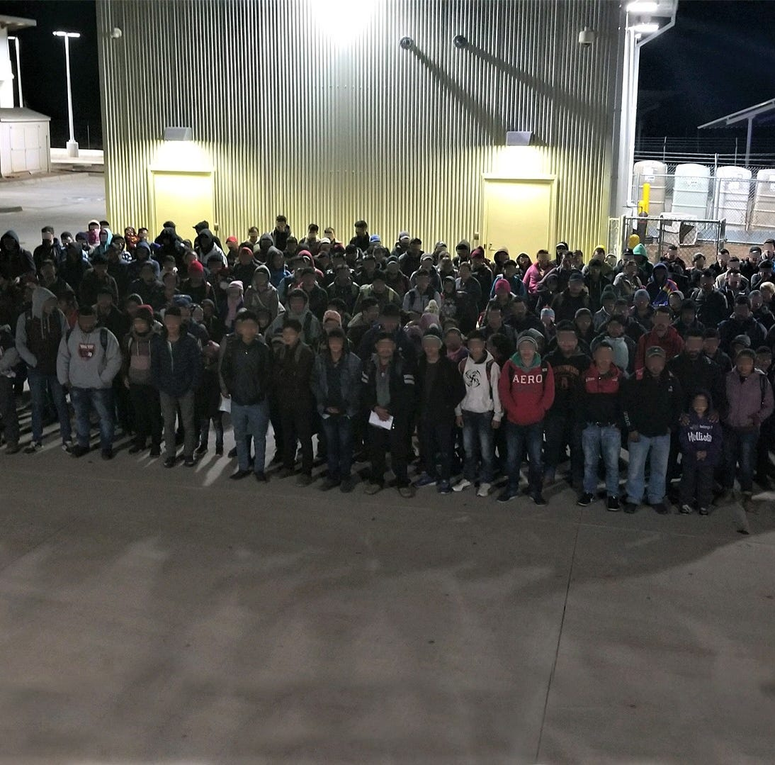 More than 200 migrants detained by Border Patrol in desolate New Mexico border