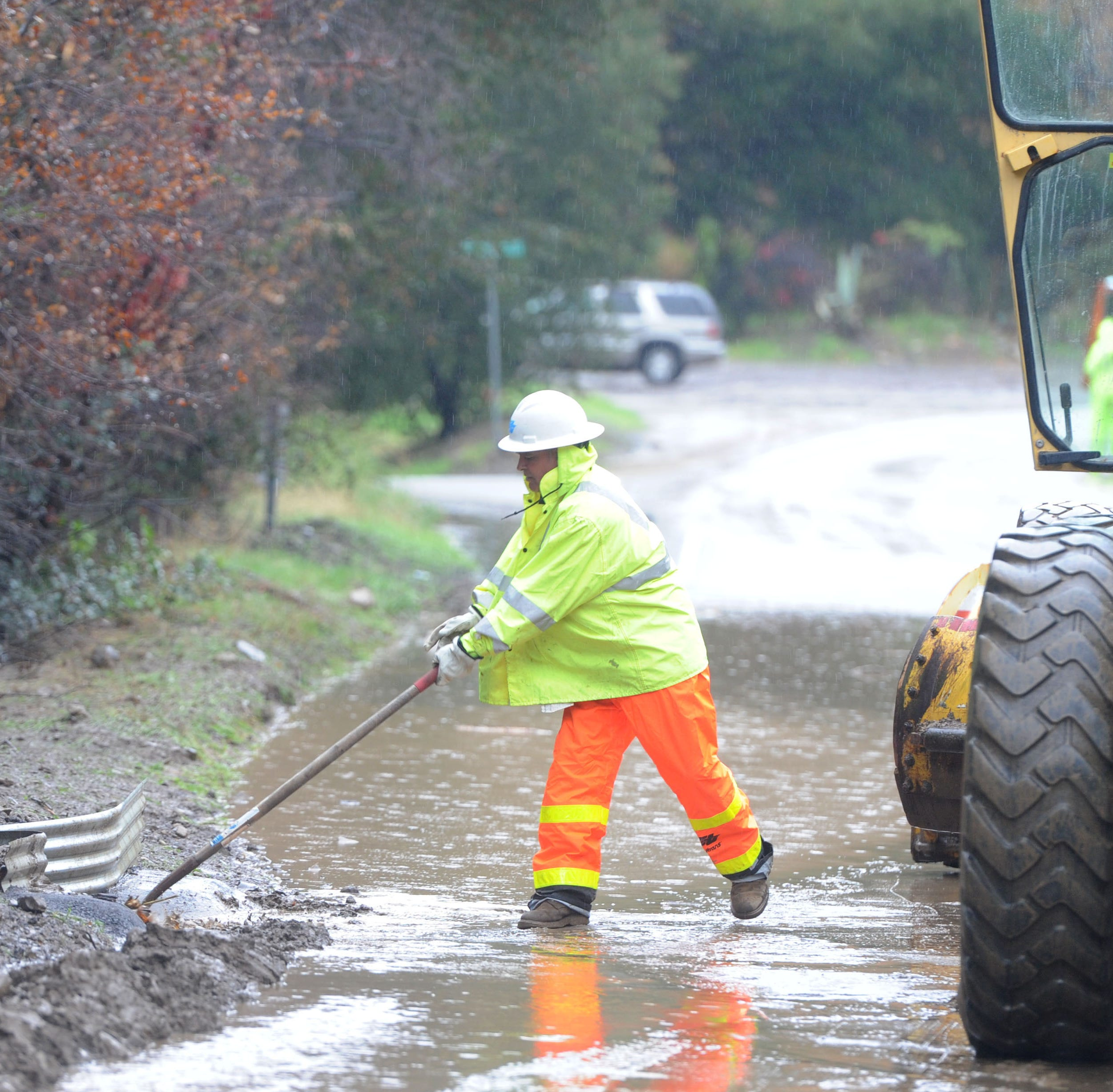 Ventura County survives latest storm that brought flooding, rock slides and evacuations