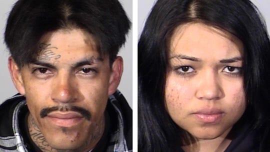 Antonio Acevedo, 27, of Camarillo, and Zamaira Mairena, 22
