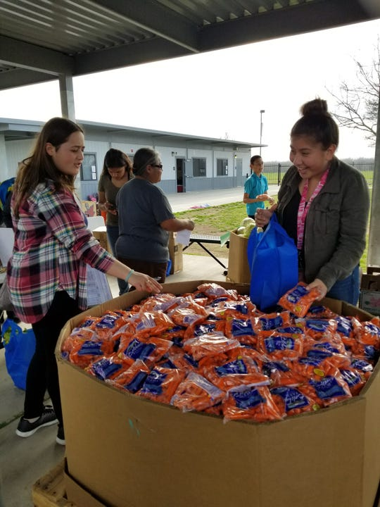 FoodLink partners with a number of Tulare County schools to provide nutritional education, healthy food and snacks.
