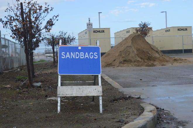 Visalia residents can fill sandbags at the city's corporation yard On Cain Street. Residents can bring a shovel to help with the bag filling.
