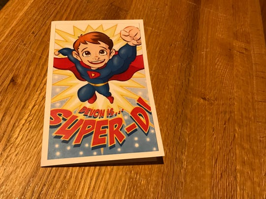 """Devon Sweeney's family and friends called him """"Super D."""""""