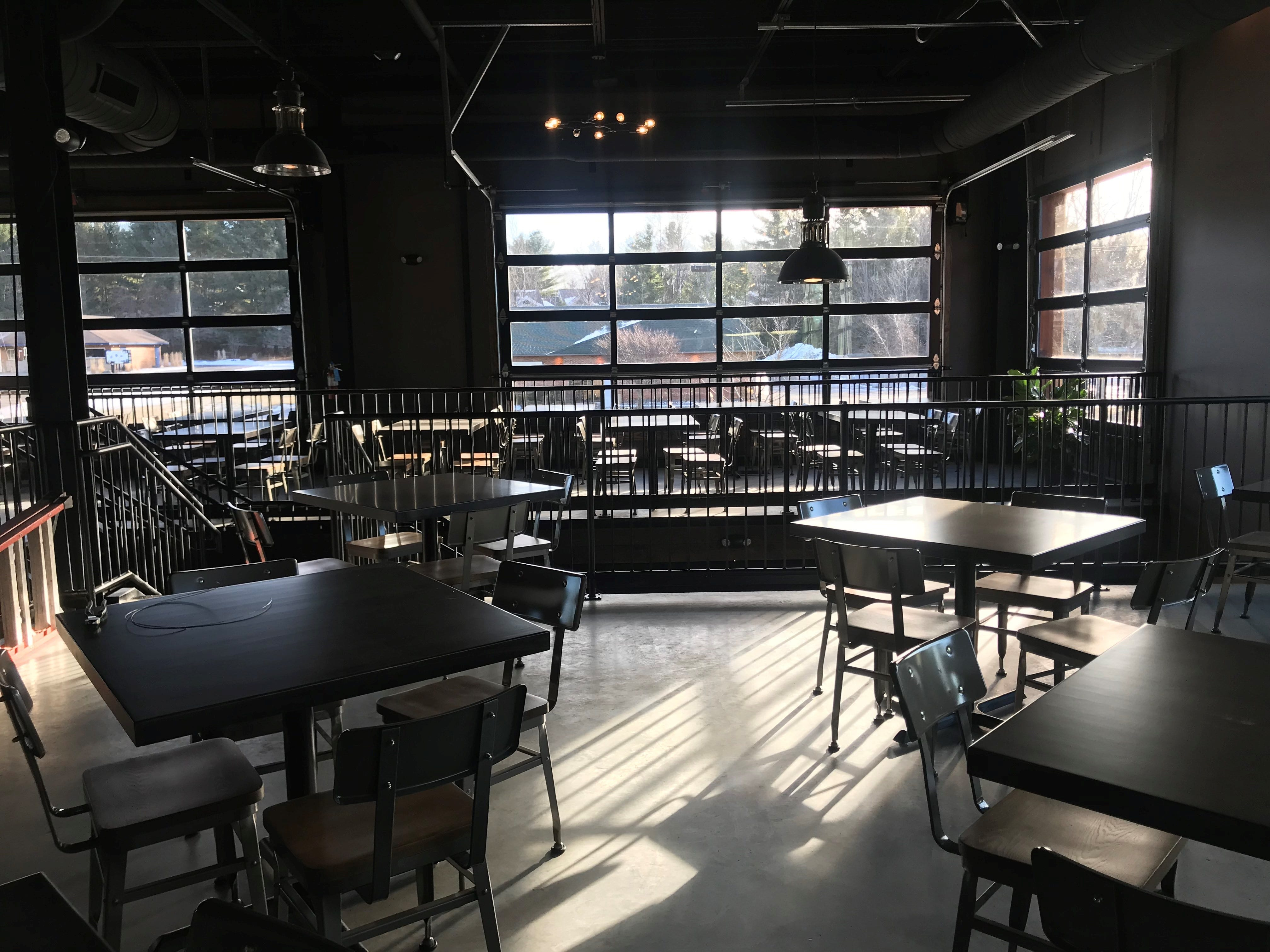 Tine & Cellar is a two-floor restaurant and bar with lots of natural light for daytime diners.