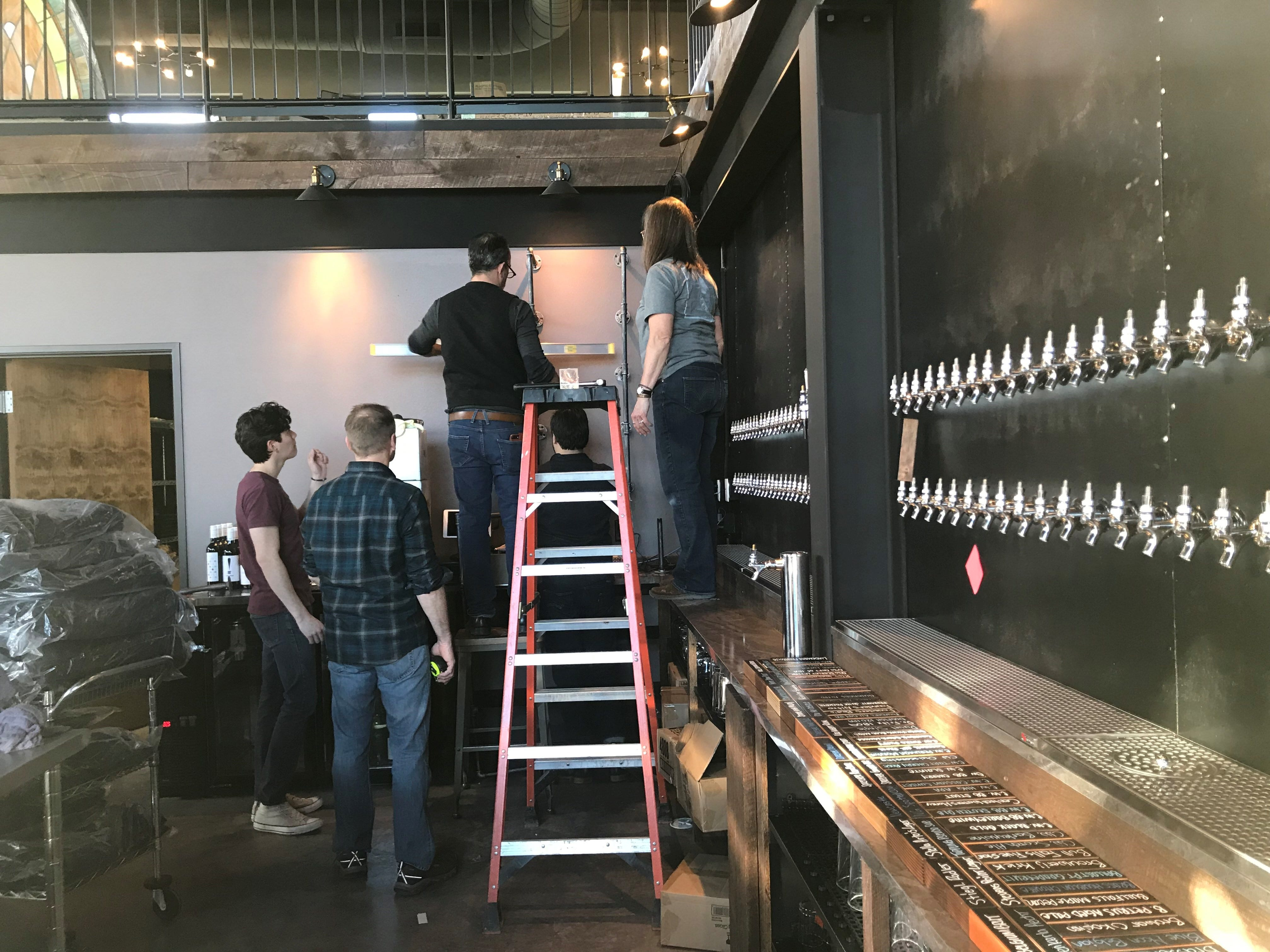There will be 101 tap beers at Tine & Cellar, with some options rotating and a new menu every Thursday.