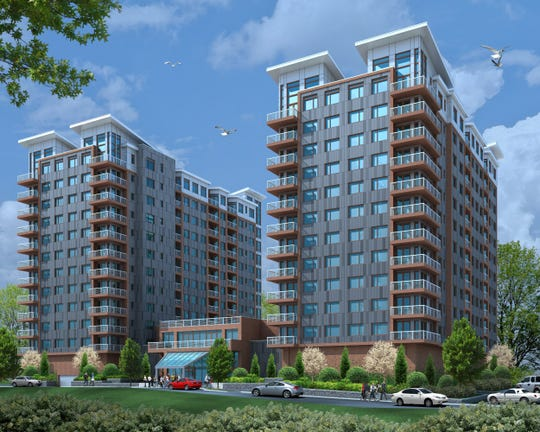 Ludlow Point A 520 Unit Two Tower Residential Development Proposed By Ginsburg