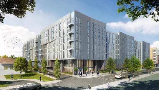 57 Alexander Street, a 440-unit, seven-story apartment building proposed by Rose Associates, has been granted nearly $6 million worth of tax abatement.