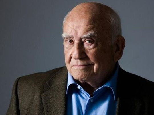 """Ed Asner will appear in """"The Soap Myth"""" on Thursday, Jan. 24 at Delaware Theatre Company."""