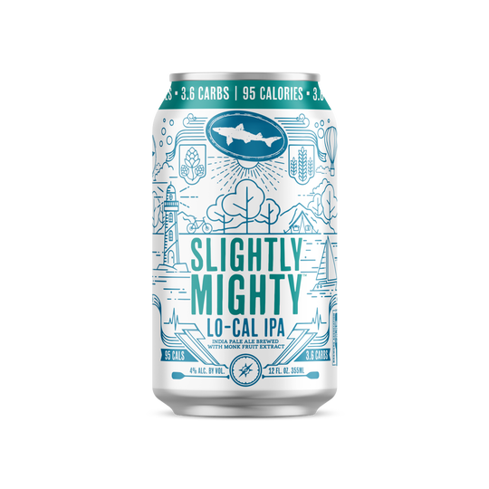 Slightly Mighty, a new low calorie IPA from Dogfish Head, is only available in Delaware...for now.
