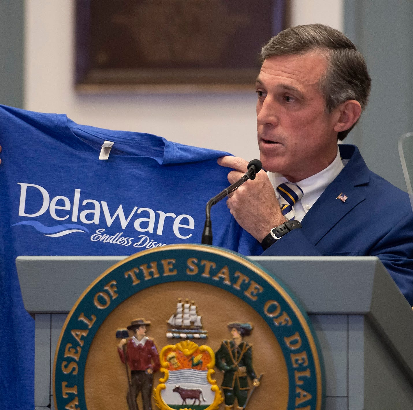 Ghost guns, a higher smoking age and other takeaways from Delaware's State of the State