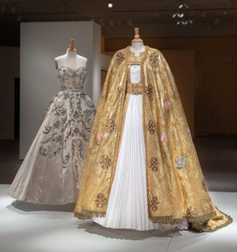 """Days before """"Costuming The Crown"""" opens at Winterthur, we get a behind-the-scenes look at clothes from the Netflix drama and how they were developed."""