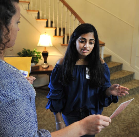 Rider High School, sophomore student, and Hospice of Wichita Falls volunteer, Manasvi Reddy is organizing a dinner and benefit to raise money for Hospice of Wichita Falls.