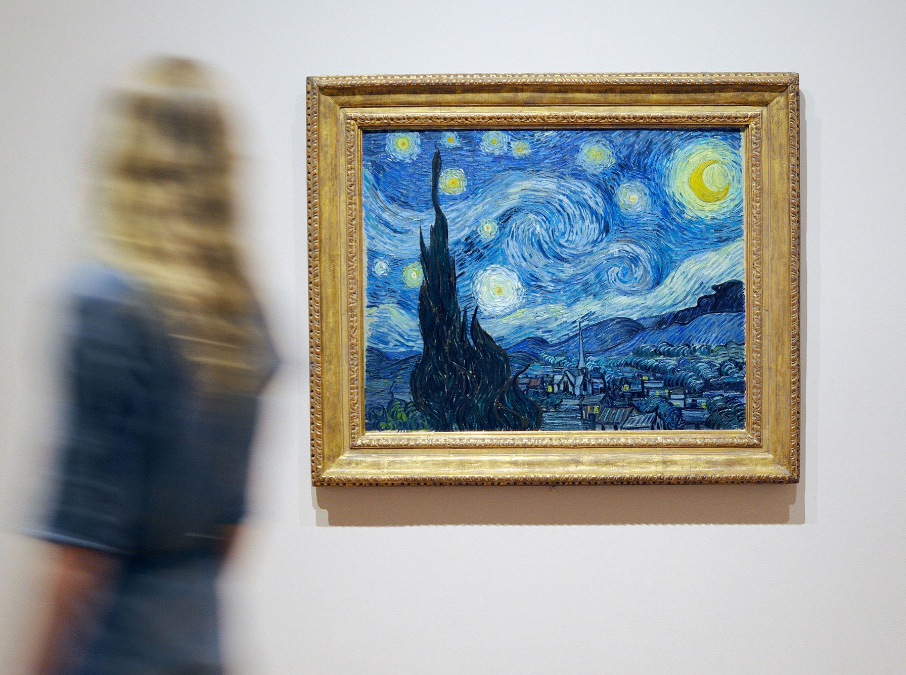 """The Starry Night"" by Van Gogh is displayed at the Museum of Modern Art, one of 57 discounted attractions during NYC Must-See Week."