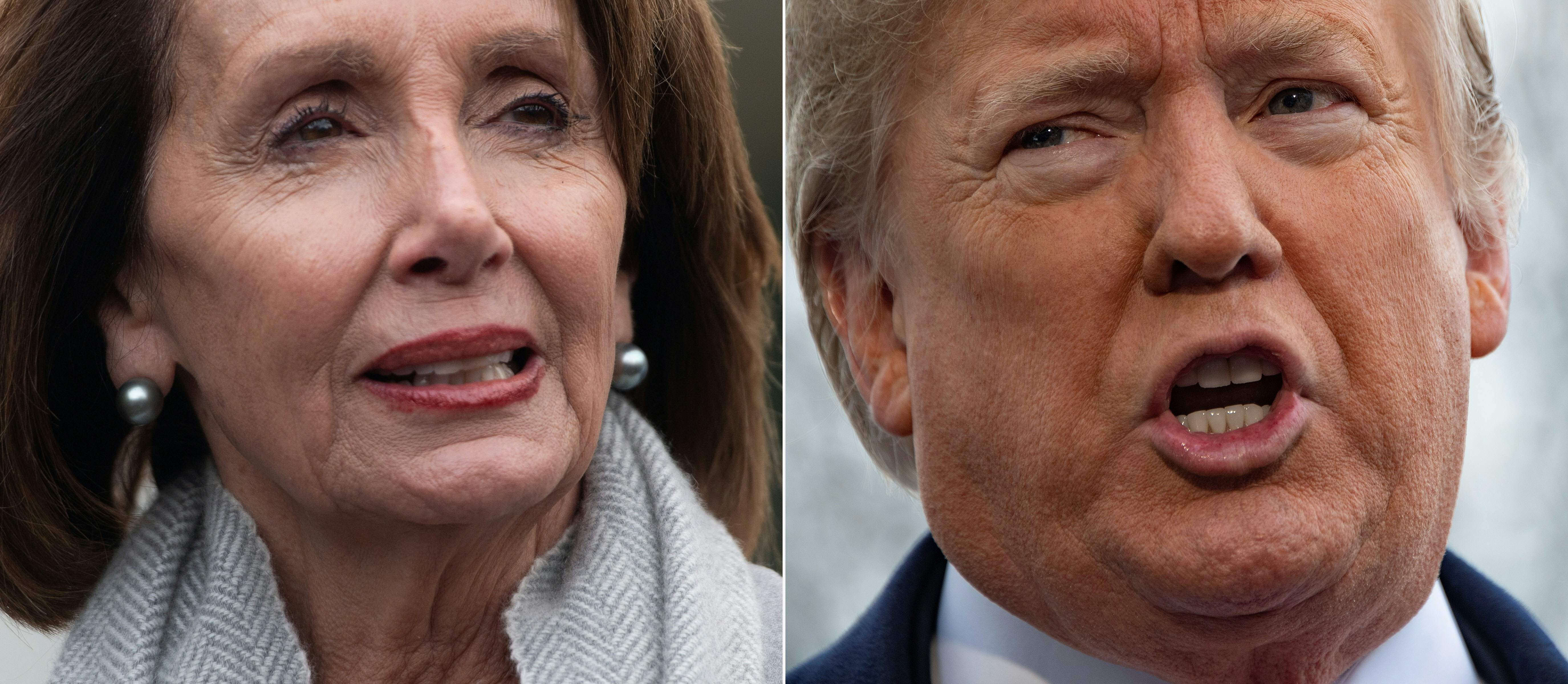 'It's anyone's guess what happens next': Democrats shoot down Trump's plan to end shutdown