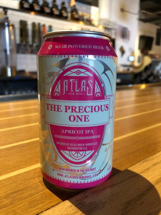 Washington D.C. brewery Atlas Brew Works is suing the government over the shutdown, saying it's prevented from shipping beer without new labels and the Treasury department is not issuing them during the shutdown. It wants keg labels for its The Precious One beer, shown here in an approved can, so it can be shipped to other states.