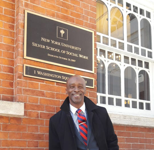 Terrance Coffie spent 19 years in the system before becoming a professor at New York University.