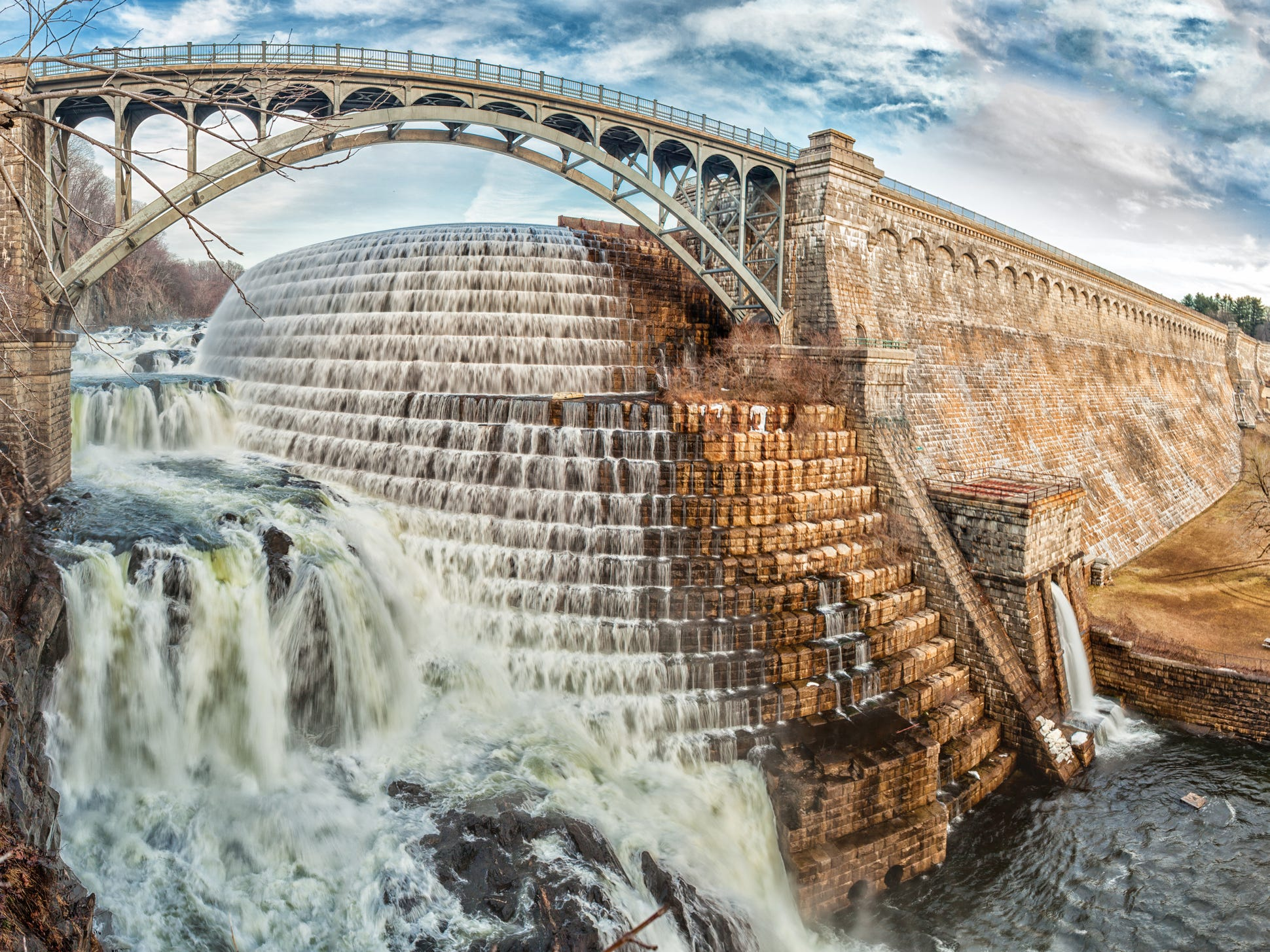 New Croton Dam in New York.